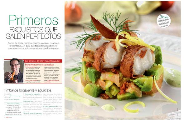 N mero de revista love cocina grupo v - Primeros platos navidenos ...