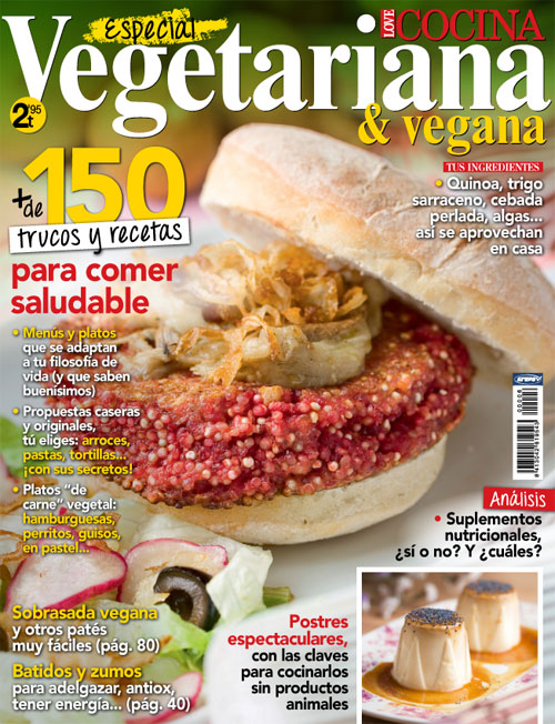 Revista Cocina Vegetariana | Numero De Revista Love Cocina Vegetariana Y Vegana Grupo V