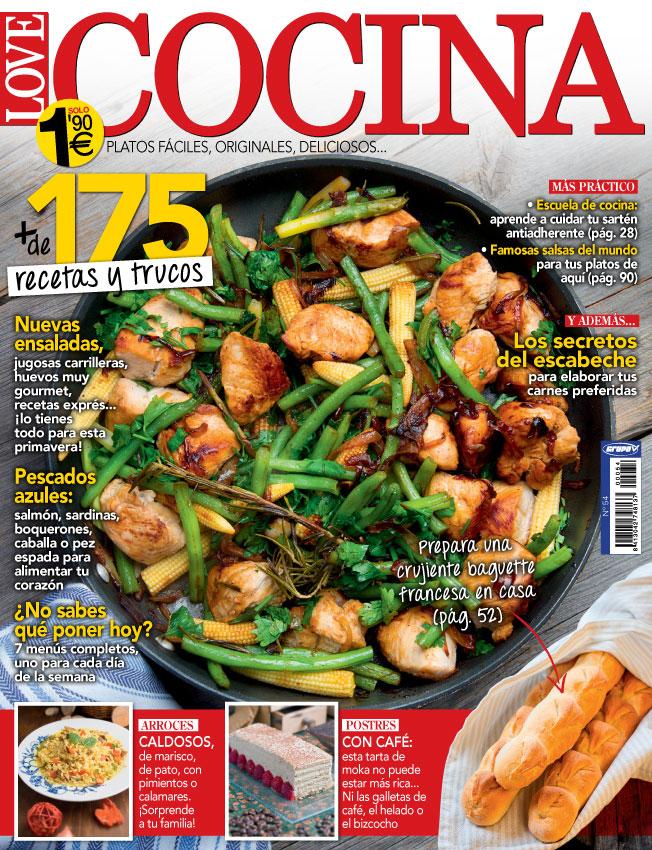 N mero de revista love cocina grupo v for Ensaladas francesas famosas